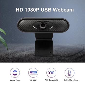 Mini kamera internetowa Full Hd 1080p USB kamera o wysokiej rozdzielczości Clear PC komputery MAC kamera internetowa do laptopa tanie i dobre opinie KKMOON Elektryczne HD Webcam