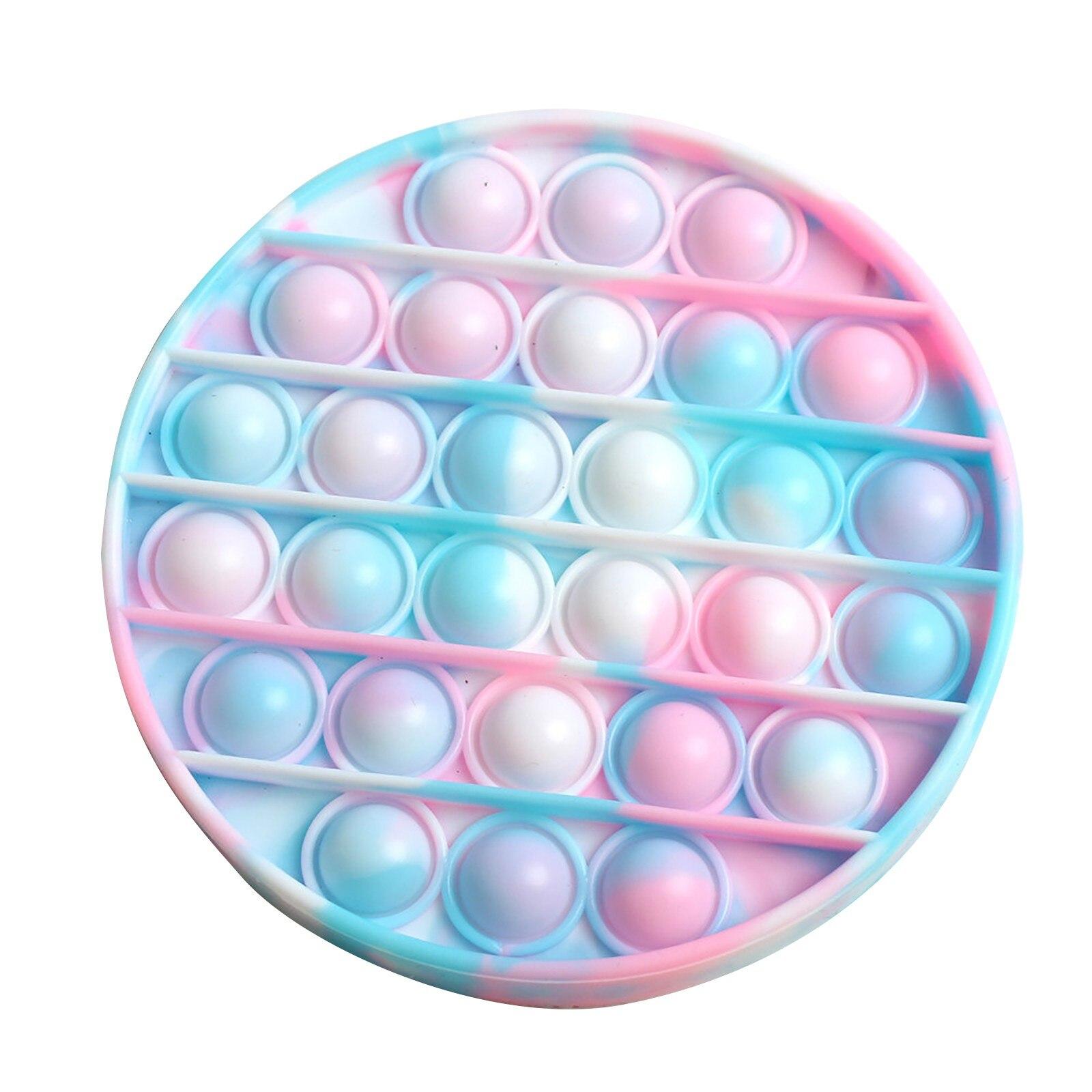 PopIt Hot Push Bubble Fidget Toys Adult Stress Relief Toy Antistress PopIt Soft Squishy Anti-Stress Gift Anti Stress Box ??? ??* img5