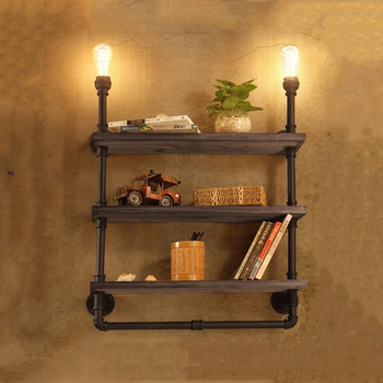 Amercian style antique industrial wall lamp study store shop restaurant cafe light iron bookshelf lamps e27 vintage wall sconce antique art bronze edison wall light loft style wall lamps for bedroom bedside retro cafe restaurant industrial lighting sconce page 5
