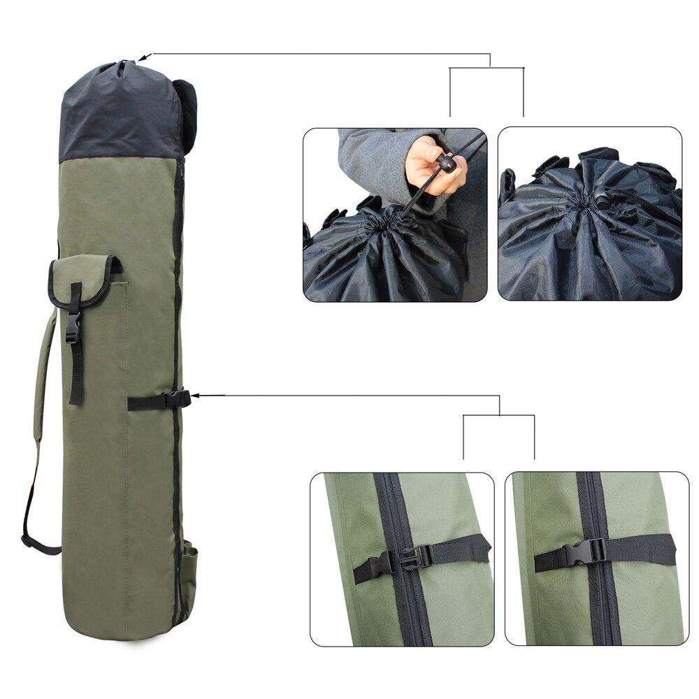 Shaddock Fishing Portable Multifunction Nylon Fishing Bags Fishing Rod Bag Case Fishing Tackle Tools Storage Bag-5