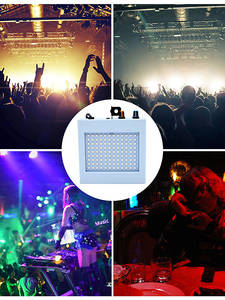 Stage-Lights Festival LED Wedding-Ktv Remote-Sound Parties Mixed-Flashing 108 for Strobe