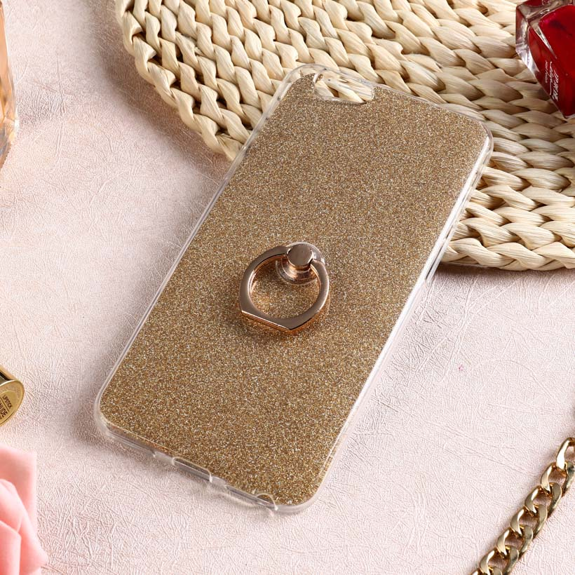 Glitter Soft <font><b>Case</b></font> For <font><b>Oppo</b></font> Reno Z 2Z Realme XT X2 3 Pro 2 c2 <font><b>Cases</b></font> Ringer Stand Silicon Funda For <font><b>Oppo</b></font> A9 A5 2020 <font><b>A33</b></font> A1k Cover image