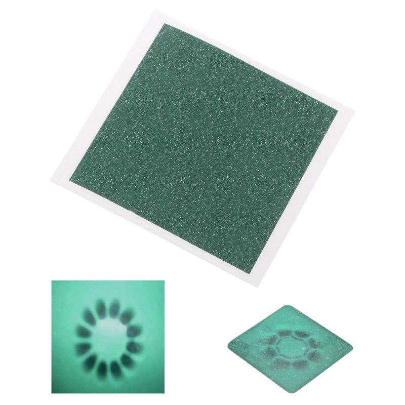 Magnetic Field Viewer Viewing Film 50x50mm Card Magnet Detector Pattern Display N1HF