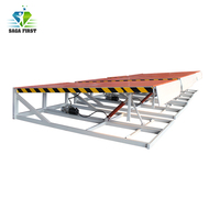 10 ton Stationary Hydraulic Dock Leveler Loading Container with Forklift