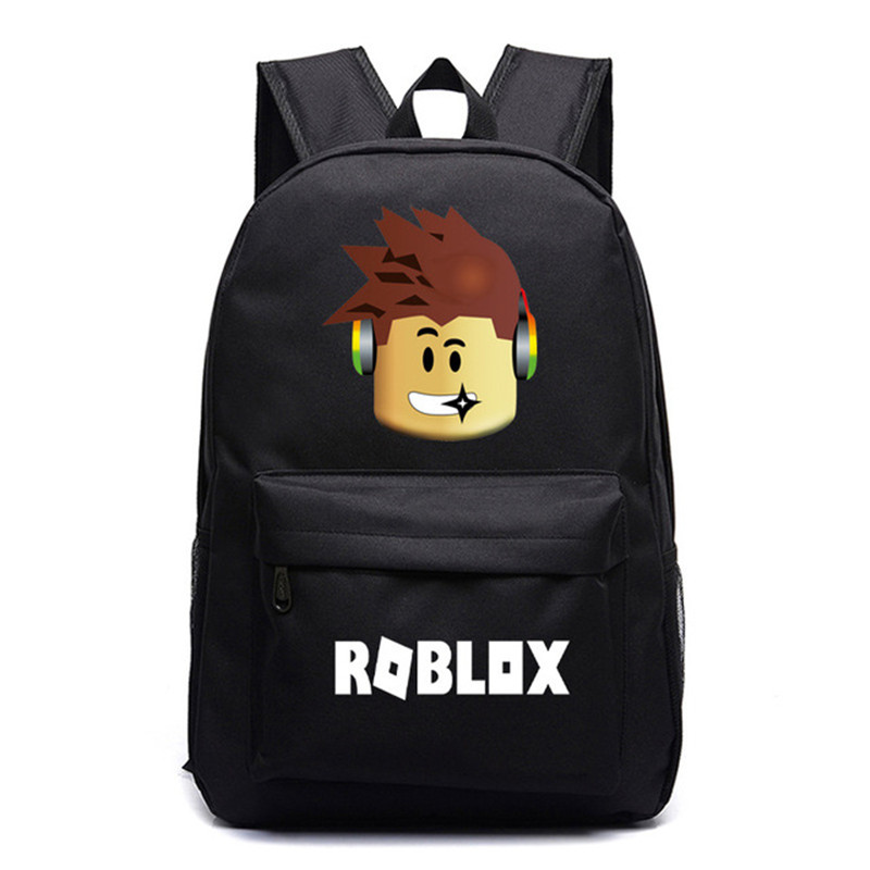 2019 ROBLOX Backpack For Teenagers Boys Sac A Dos Kids Bags Children Student School Bags Travel Shoulder Bag