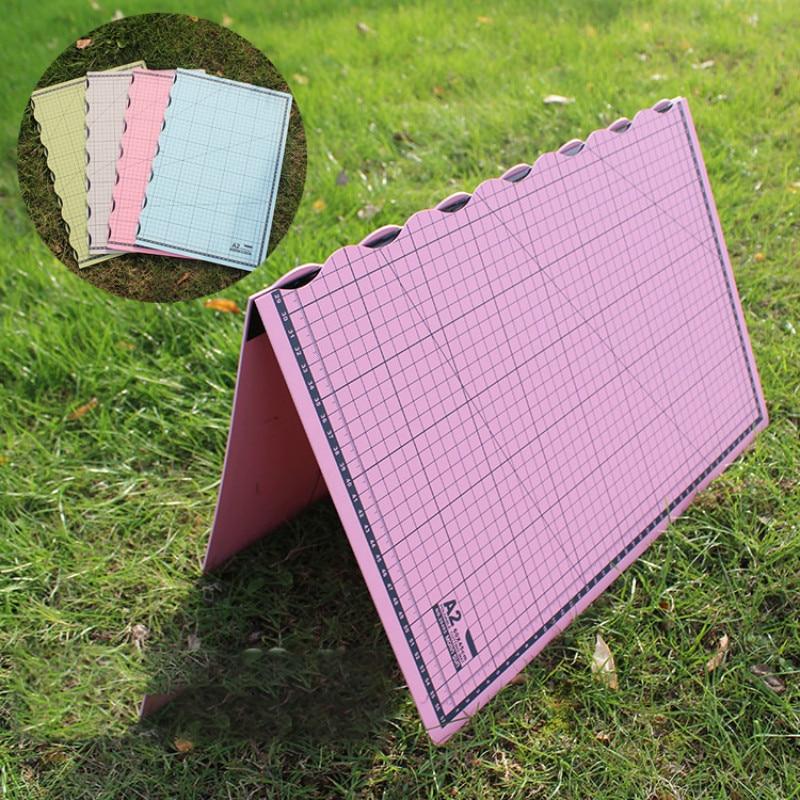 Portable Folding Cutting Board Diy Manual Model Making Cutting Pad A2 Cutting Board Pvc Folding Self-repairing Cutting Pad Board