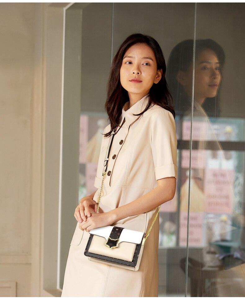 moda pequeno luxo sacos do mensageiro mini órgão saco