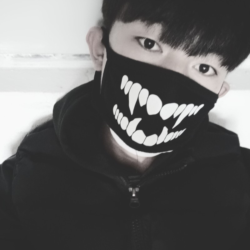 Стоп загрязнения воздуха езда маска унисекс 6 стиль рот Муфельная одежда аксессуары мультфильм прекрасный 1 шт. согреться