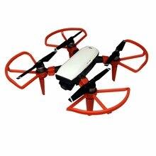 4pcs מדחף משמר עבור DJI ניצוץ 4730 להב פגוש Drone חילוף חלקי מגן אנטי התרסקות נשלף נחיתה אבזר