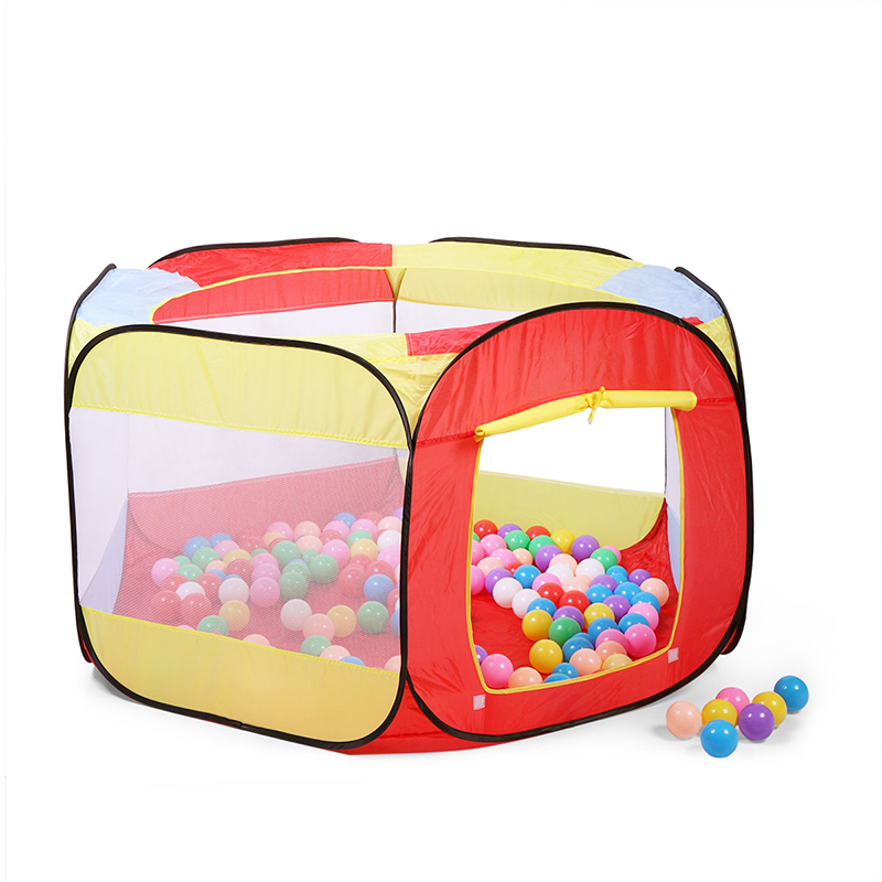 Baby Portable Playpen Kids Indoor And Outdoor Fencing Child Folding Safe Washable Fence Barrier Ball Pool Security Playpen T0808