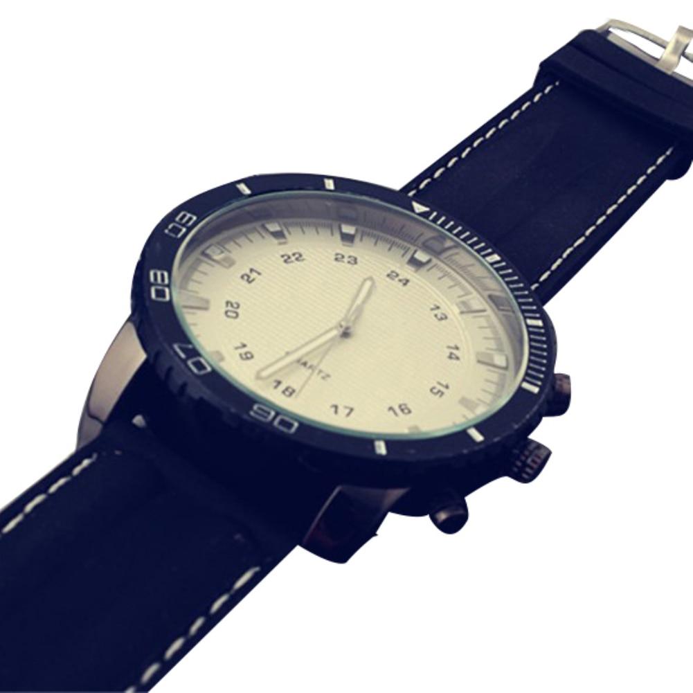 Fashion Sport Analog Unisex Couple Watch Men Watch Women Quartz Wrist Clock Watch Faux Leather Band Fashion watch for lovers