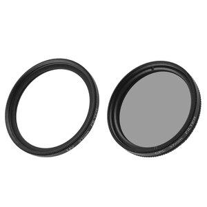 Image 3 - UV CPL Lens filtre + koruyucu alüminyum çerçeve kılıf + Lens kapağı için Xiaomi Yi 4K Lite eylem kamera Lens aksesuarları yüksek kalite