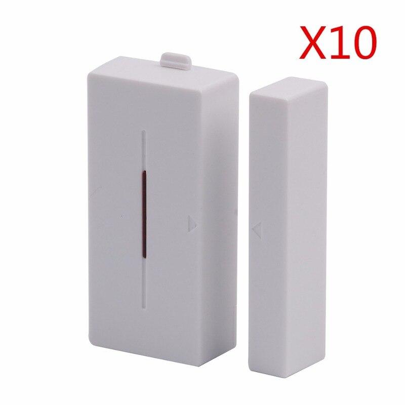 10pcs Sonoff DW1 Door Window Alarm Sensor Wireless Automation Anti Theft Alarm Smart Home Security Alarm