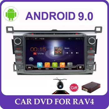 Android 10.0 2 din car radio GPS Car DVD Player For Toyota RAV4 RAV 4 2013 2014 2015 2016 bluetooth wifi RDS WIFI car multimedia image