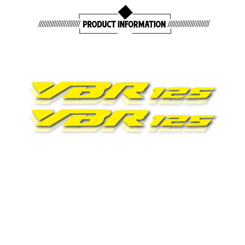 Adesivi ruote riflettenti impermeabili nuova moto LOGO decalcomania casco moto for Yamaha YBR 125 ybr 125