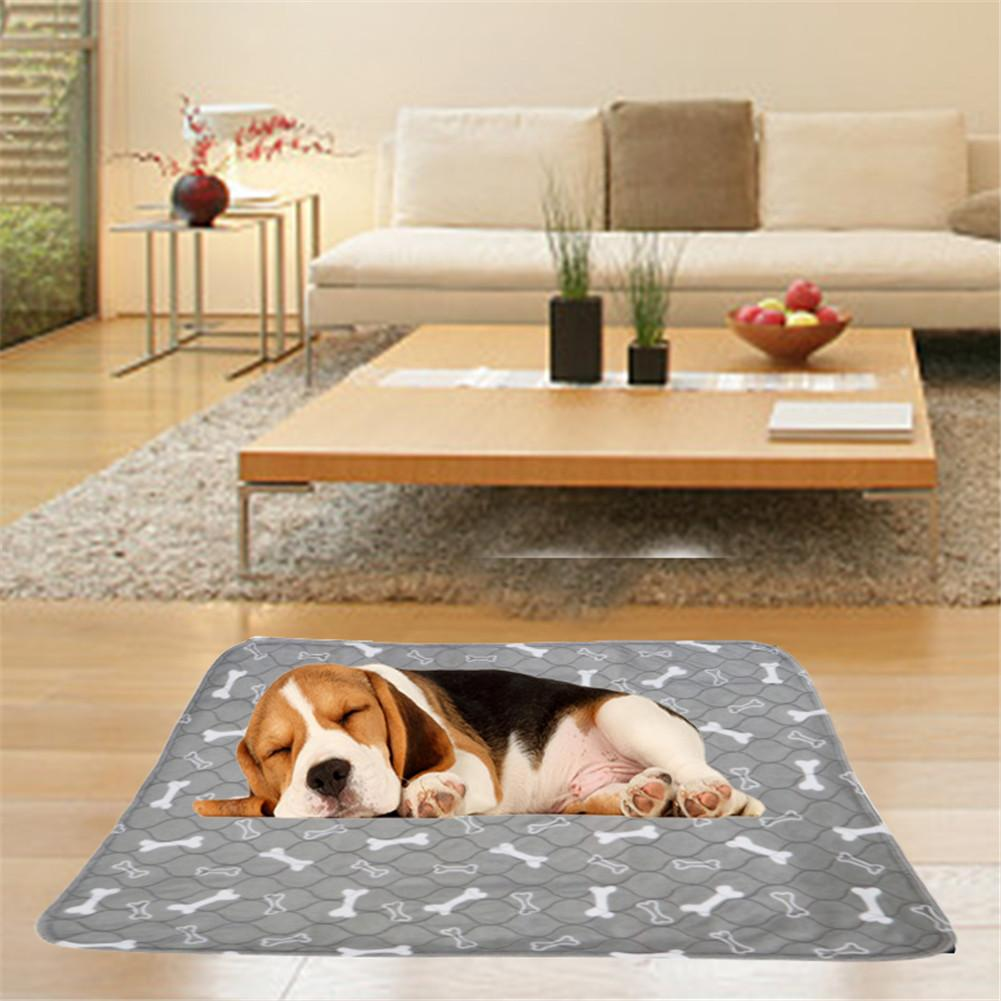 Cute Three-layer Waterproof Mat For Pet Dogs, Water Absorbing Mat For Cats Urine Reusable Mattress Pad Diaphragm
