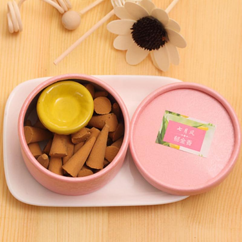 Pagode Natürliche Weihrauch hilft schlaf Stick Aromatherapie Sandelholz Rose Aroma Parfüm Set Gewürz Tablett Haushalt Parfüm Set