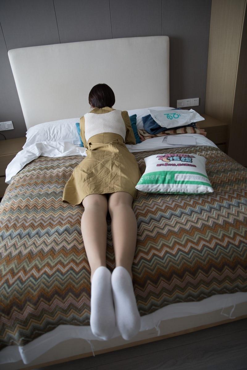 物恋传媒 No.336 嘉嘉-完美新世界(帆布鞋、纯白船袜、肉丝) [198P/1V/4.58G]插图(2)