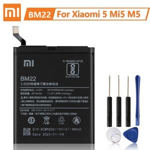Image 2 - XiaomiオリジナルバッテリーBM36マイルのための5 4s MI5S BM22 MI5ためmi 5 BM37 mi 5sプラスBN20ミ5C BN34 BN31 redmi 5A注5A