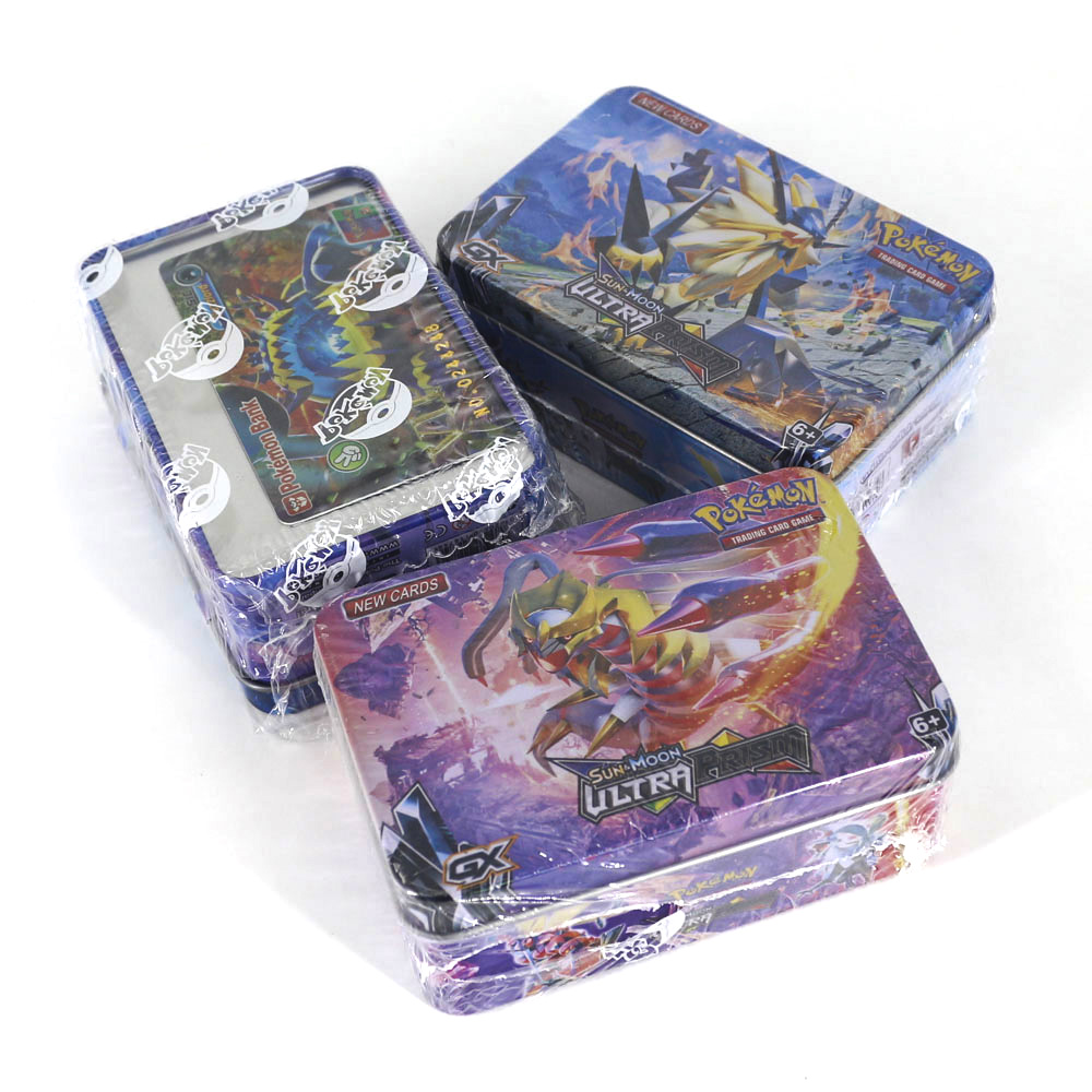 Takara Tomy Pokemon Card 42pcs  For Kids Play Toy Collections Metal Boxed VIP Gold Cards