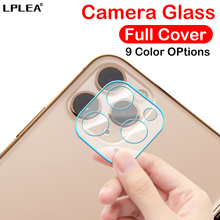 9H Camera Tempered Glass Film For Apple iPhone 11 Screen Protector For iPhone 11 Pro Color Lens Max Full Cover Protective Glass lens protector for fimi palm gimbal camera anti scratch 9h tempered glass screen film pet soft film protective accessories
