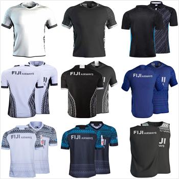 Fiji 7s 2019 2020 Home Rugby Jersey rozmiar S-5XL tanie i dobre opinie Krótki Poliester Koszulki