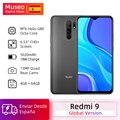 "Global Version Redmi 9 Mobile Phones Helio G80 Octa Core 4GB 64GB 6.53"" FHD+ 13MP AI Quad Cams Smartphone 5020mAh"