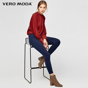 Image 2 - Vero Moda Womens Slim Fit Wrap Stretch Denim Pants Crop  Jeans