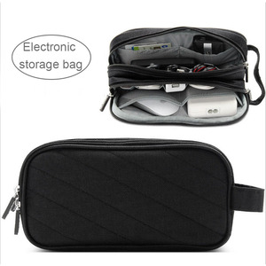 Image 2 - Acoki Laptop Power Mouse Line Storage Bag Digital Accessories Charger USB Data Cable Earphone Wire pen HDD Organizer
