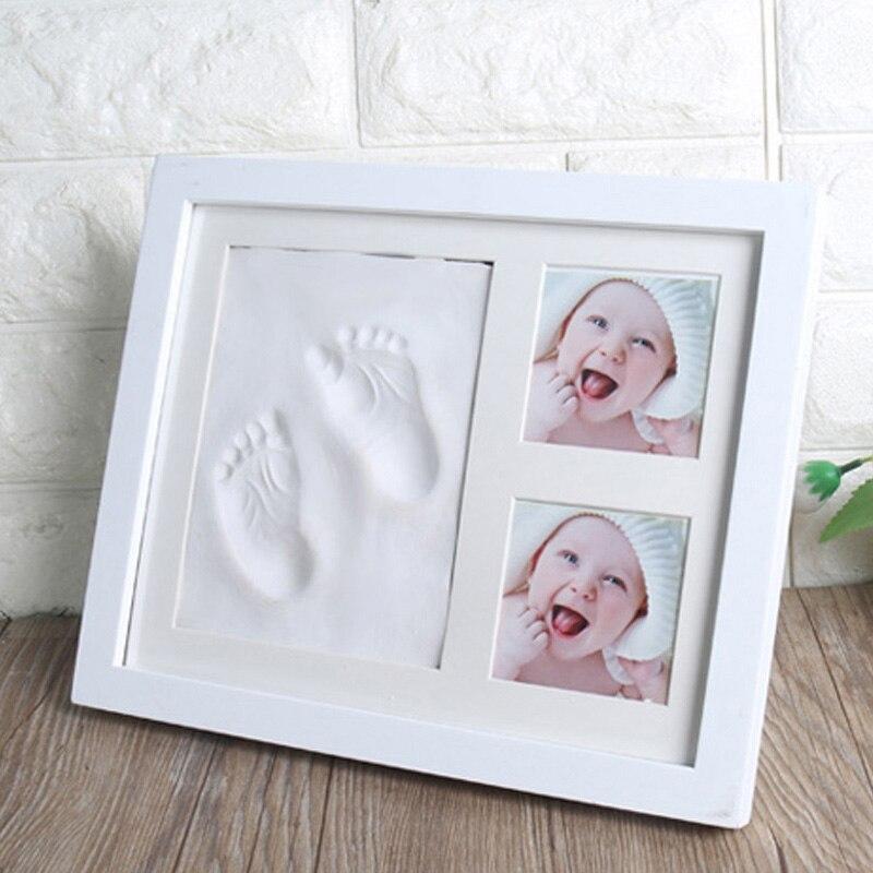 porta retrato 3d para bebes molde tinta 01