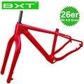 Рама для велосипеда BXT 26er с вилкой  полная рама из карбона  26 max 5 0  рама для снежного велосипеда с вилкой  2020