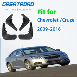 4 pces carro dianteiro traseiro lama aleta mudguards respingo guardas para chevrolet/cruze 2009-2016