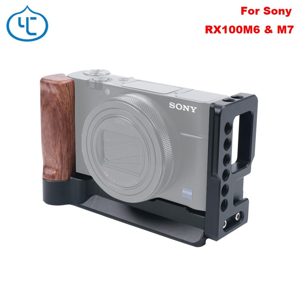 Soporte De Soporte Metal Mano Agarre Vertical Para SONY RX100 RX100II RX100III v IV
