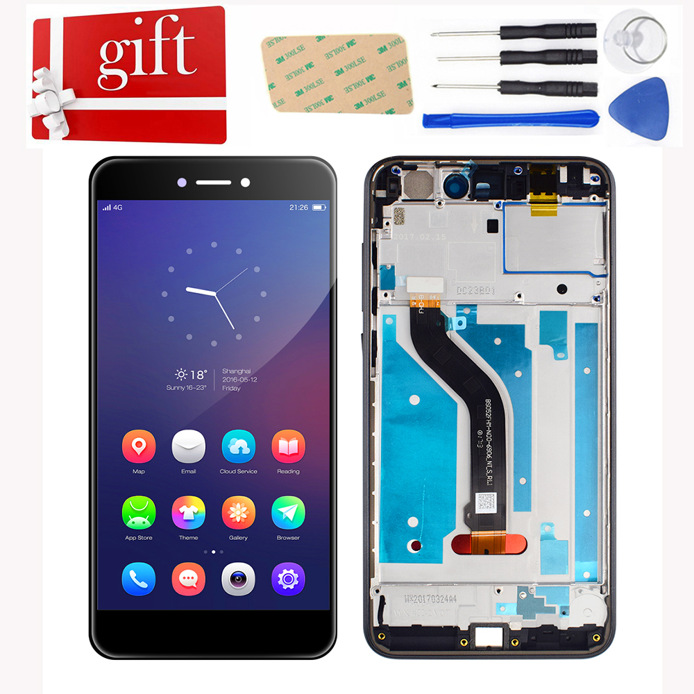 LCD For Huawei P8 Lite 2017 P9 Lite 2017 PRA-LA1 PRA-LX1 PRA-LX LCD Display Touch Screen Digitizer Glass Assembly With Frame