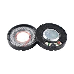Image 2 - GHXAMP 2pcs 30mm Headphone Speaker Unit 32 ohm 100db Headset Driver Full Range Speakers Repair Parts For Headphones