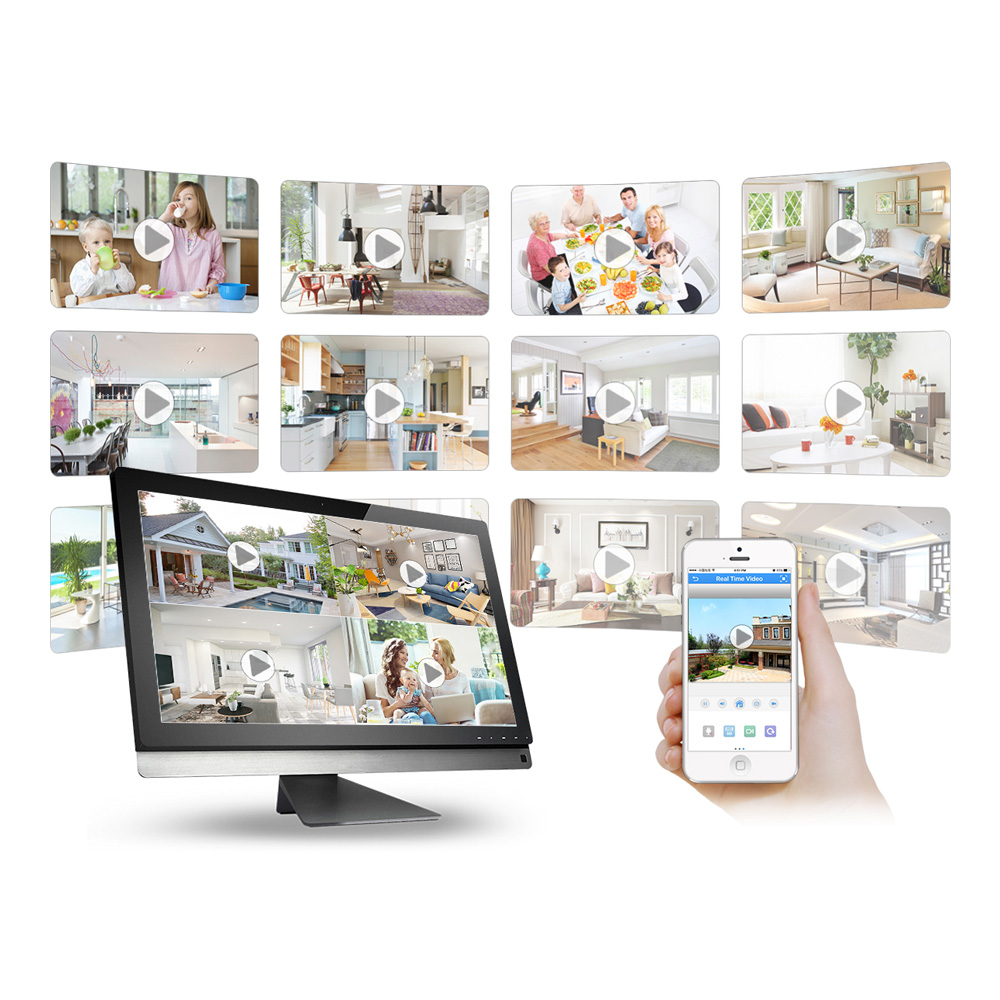 MISECU H.265 Mini NVR Full HD real P2P 16CH/8CH 5MP 16CH 1080P Video Recorder Motion Detect ONVIF For IP Camera Security System 4