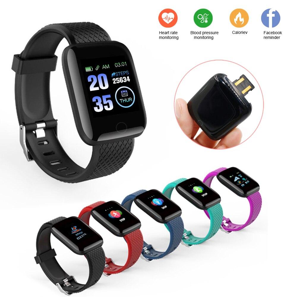 Pulseira De Fitness Monitor De Freqüência Cardíaca Pedômetro Calorias Medidas D13 Rastreador de fitness Banda Inteligente Para Android IOS Telefone