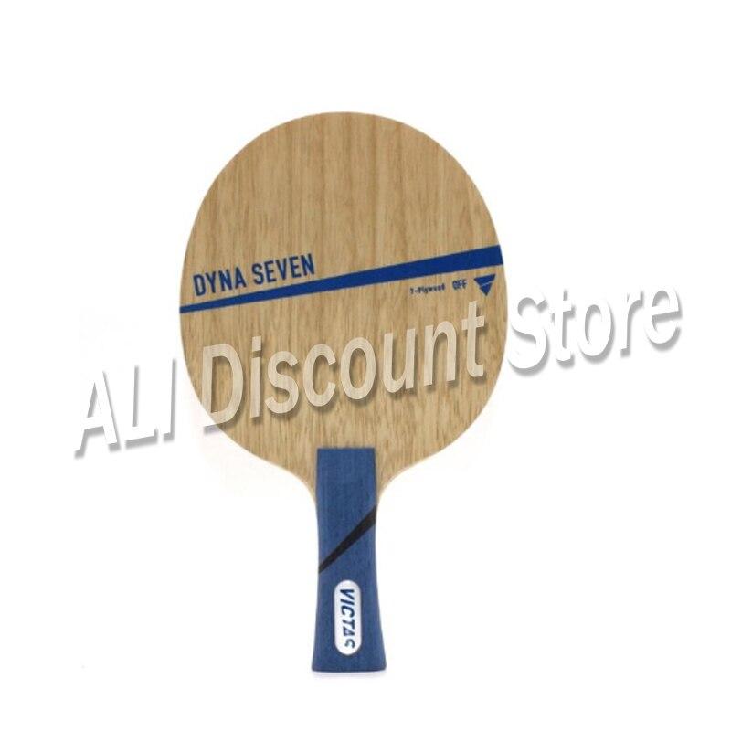 Оригинал Victas Dyna, семь лезвий для настольного тенниса, ракетка, спортивные ракетки для настольного тенниса, для занятий спортом в помещении,