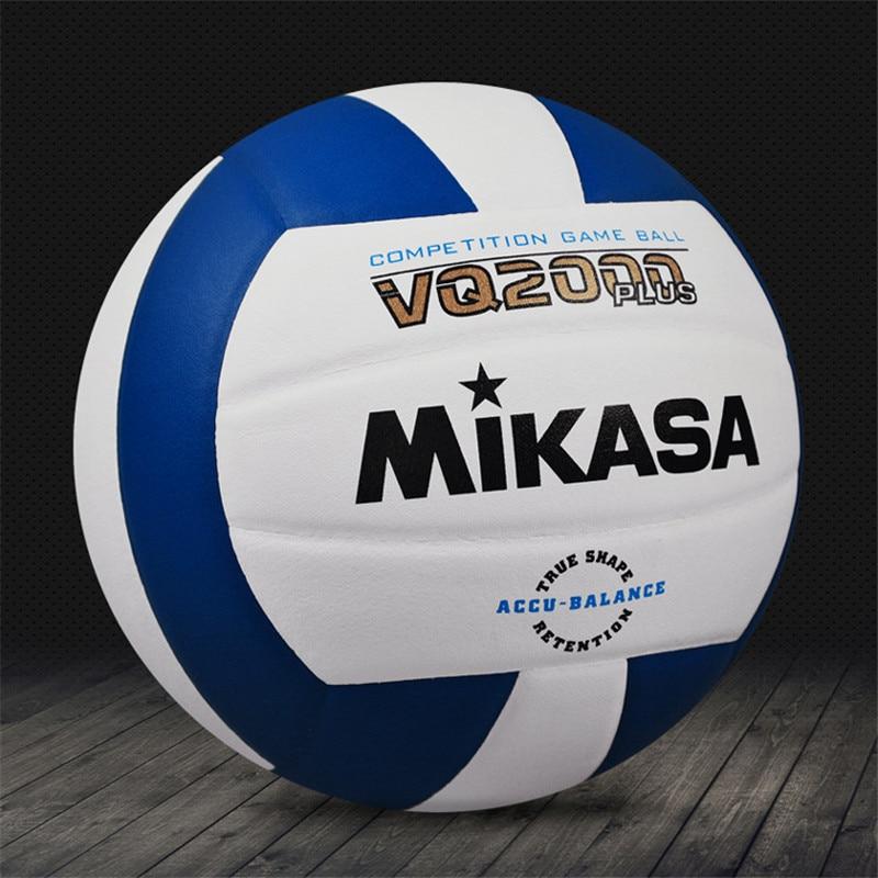 Япония Mikasa волейбол VQ2000 микрофибра искусственная кожа для взрослых тренировочный №5 Стандартный Профессиональный мяч