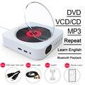 CD-плеер настенный с поддержкой Bluetooth, Mp3, FM-радио, Hi-Fi