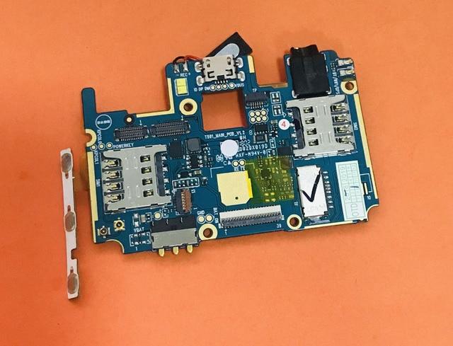 لوحة أم مستعملة أصلية 2G RAM + 16G ROM اللوحة الأم ل LEAGOO KIICAA POWER MT6580A رباعية النواة شحن مجاني