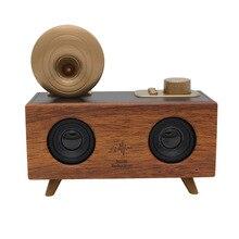 Powerful 10W Bluetooth Speakers Retro Bluetooth speaker Super bass 3D surround sound subwoofer support USB TF Card Radio