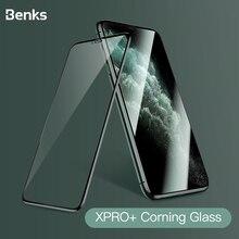 Benks Corning HD 유리 3D XPRO 전체 커버 화면 보호기 iPhone X XS 11 Pro MAX XR 9H 경도 보호용 강화 유리