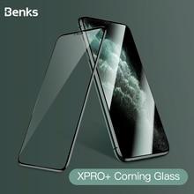Benks קורנינג HD זכוכית 3D XPRO מלא כיסוי מסך מגן זכוכית מחוסמת עבור iPhone X XS 11 פרו MAX XR 9H קשיות מגן