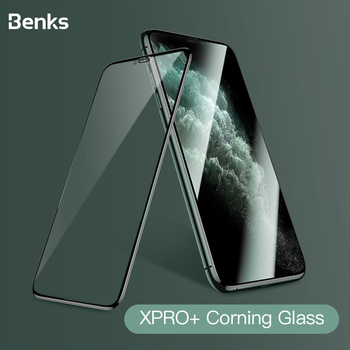 Benks Corning HD Glass 3D XPRO Full Cover Screen Protector Tempered Glass For iPhone X XS 11 Pro MAX XR 9H Hardness Protective