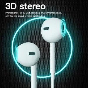 Image 2 - ! ACCEZZ Tipi C Kulaklık USB C Kulakiçi Kulak Spor Ga mi ng mikrofonlu kulaklık Xiao mi mi 8 9 Huawei Pro p20 Mate 10 Samsung S10
