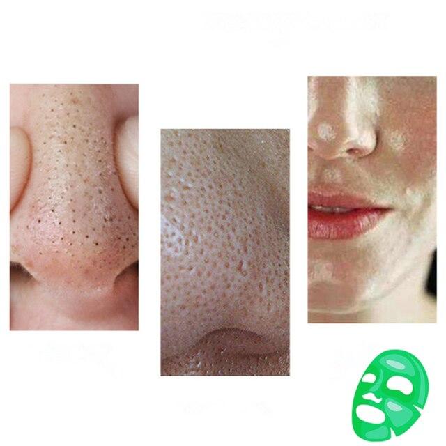 40g Dr.Sugarm Green Tea Face Peel Mask Blackhead Remover Acne Deep Cleansing Treatment Pore Strip Mask Moisturzing Face Cream 4