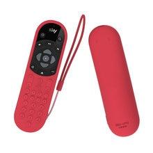 SIKAI 2020 Rivestimenti Per Telecomandi Per SKY Q Custodia protettiva ANTIURTO di Tocco Compatibile E Non-Touch della pelle-FriendlyWith Anello mano