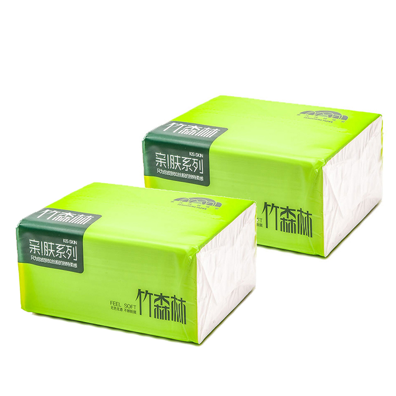 Disposable Nature Bamboo Soft Paper Napkin For Restaurant Table Dinner Paper Tissues Party Supplies  (1 Packs=280pieces)