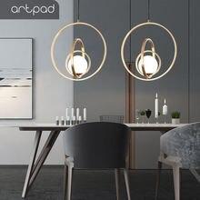 Artpad Италия постмодерн вращающийся двойной/три кольца столовой